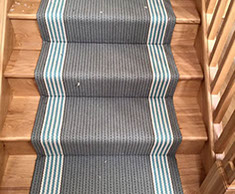 Wood Flooring and Carpets Stairway